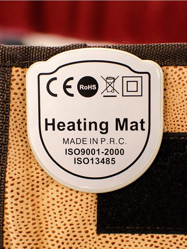 Coussin chauffant infrarouge avec les pierres de Jade, Tourmaline et 4 lumières photon